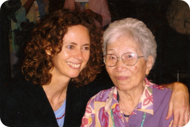 Cynthia Broshi and Mary Burmeister